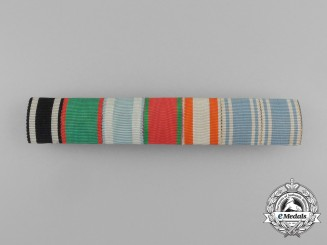 A First War Bavarian Long Service Medal Ribbon Bar