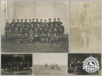 Six First War Royal Flying Corps (RFC) Airmen Photographs