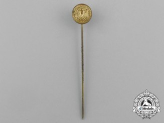 A Wehrmacht Heer (Army) 12-Year Faithful Service Miniature Stick Pin