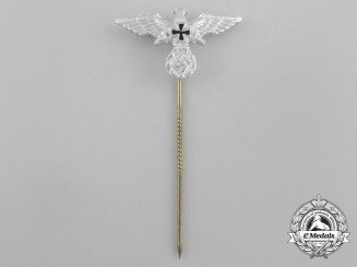 A Third Reich Period German Veteran's Association Membership Stick Pin