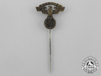 A NSKK (National Socialist Motor Corps) Membership Stick Pin by Fritz Kohm
