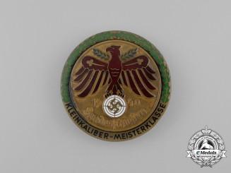 A 1940 German Master Class Small Bore Target Shooting Marksmanship Badge