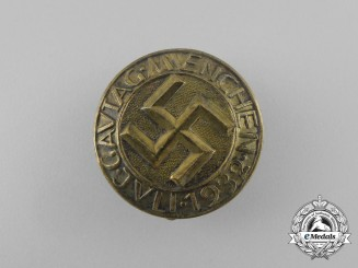 A 1932 Munich Regional Council Day Badge