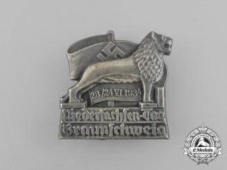 "A 1934 Braunschweig ""Day of Lower Saxony"" Badge"