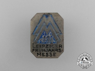 A 1935 Leipzig Spring Exhibition Badge by E. Schmidhäussler