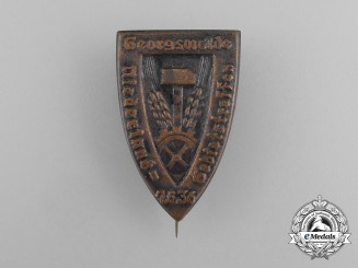 A 1936 Niederland Geringswalde Regional Meeting Badge