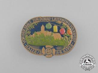 A 1938 KDF Lantern and Volks Festival Badge