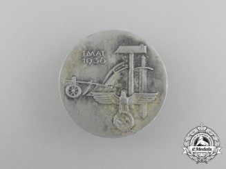 A 1936 Day of Labour Badge by Johann Cuno König