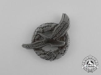 A 1935 Merseburg Regional Meeting Badge