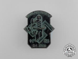 A 1936 Schlageter Tag Badge