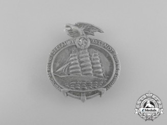 A 1935 Day of German Seatravel Badge