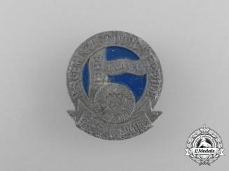 A Third Reich Period KDF (Strength Through Joy) Region Hessen-Nassau Event Badge