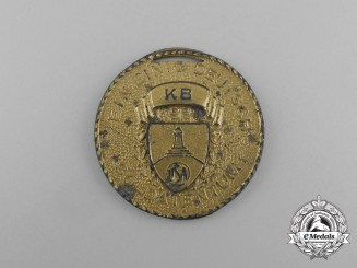 """A 1939 American Kyffhäuser League """"Day of German Soldiers"""" Commemorative Medal"""