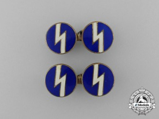 A Set of DJ (German Youngsters) Leader's Cufflinks
