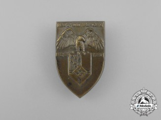 A 1938 Bremen National Colonial Exhibition Badge