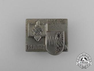 A 1937 Erlangen NSRL District Festival Badge