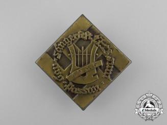 A 1936 Passau Region Singers Festival Badge