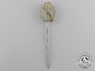 A Miniature Silver Grade Infantry Assault Badge Stick Pin