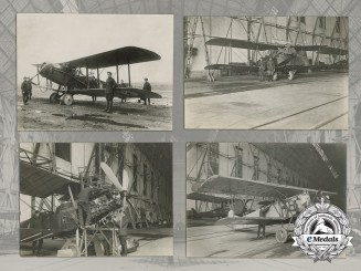 Six First War Royal Flying Corps/Royal Air Force (RFC/RAF) Photographs