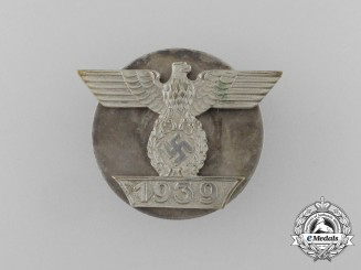Germany, Wehrmacht. A Clasp to the Iron Cross 1939, I Class, I Pattern Screwback Version