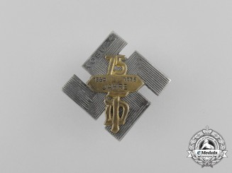 A 1935 75-Year Anniversary of NSDAP in Coburg Badge by Carl Poellath