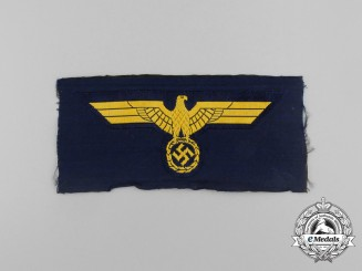 A Mint and Unissued Kriegsmarine (Navy) Breast Eagle