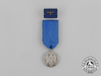 A Second War German IV Class Long Service Award for 4 Years' Service with Medal Ribbon Bar