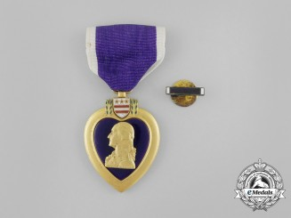 A Second War American Purple Heart to Jerome James