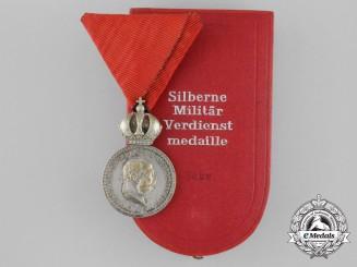 "An Austrian Military Merit Medal ""Signvm Lavdis"", Silver Grade"