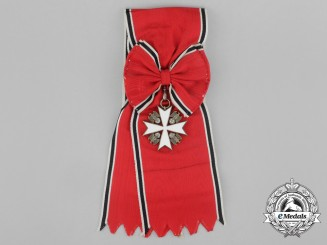 Germany, Heer. An Early Order of the German Eagle Grand Cross with Sash by Deschler & Sohn