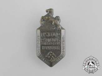 A 1934 Hannover NSDAP District Party Day Badge