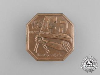 A 1930 Obernheim District Council Day Badge