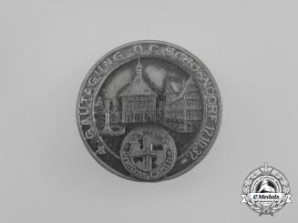 A 1937 Schorndorf Gautagung Badge