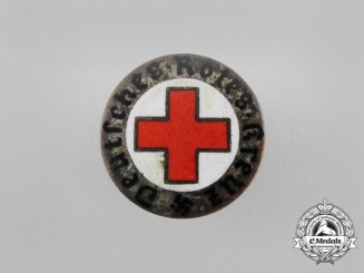 A Third Reich Period DRK (German Red Cross) Membership Lapel Badge
