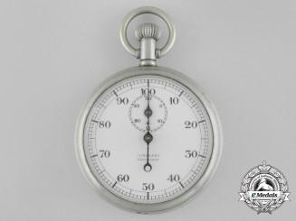 A Second War Junghans Kriegsmarine Navigator's Stopwatch