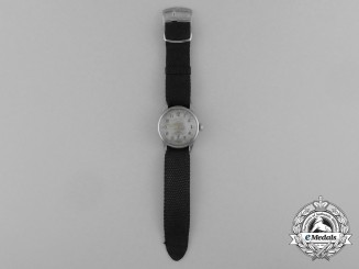 Germany, Kriegsmarine. An Officer's Service Watch by Zentra