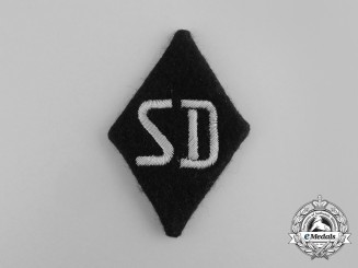 A Mint & Unissued SS Security Service of the Reichsführer Sleeve Diamond