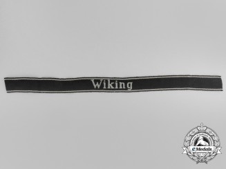 "A 5th Waffen-SS Panzer Division ""Wiking"" EM/NCO's Cuff Title"