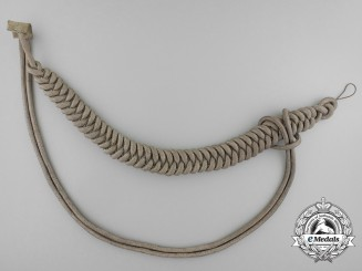 A Second War German Wehrmacht Heer (Army) Adjutant's Uniform Aiguillette
