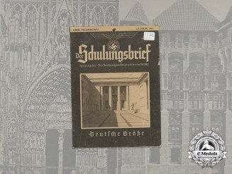 "A 1941 Issue of the Propaganda Magazine ""Der Schulungsbrief"", vol. 8, issues 1&2"