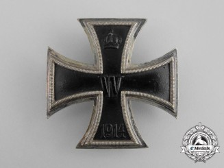 An Iron Cross 1914 First Class by Carl Dilenius