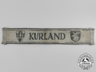 A Kurland Campaign Cuff Title; Uniform Removed