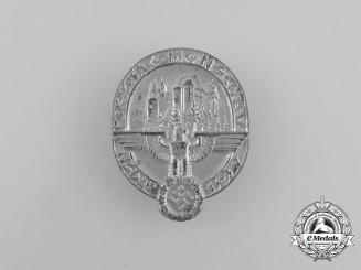 A 1939 NSDAP Monschau District Council Day Badge by Ferdinand Hoffstätter
