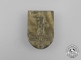 A 1939 NSDAP Mecklenburg Gautag Badge by Assmann & Söhne