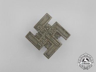A 1934 9-Year Anniversary of NSDAP in Ost Hannover Badge