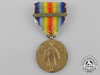A First War American Victory Medal; Siberia Clasp
