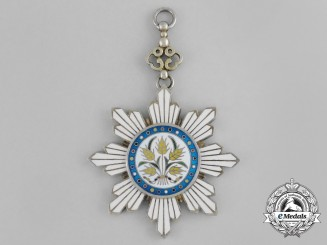 A Chinese Order of the Golden Grain; Officer