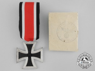 An Iron Cross 1939 2nd Class in its Original Wrappings to a Luftwaffe Member