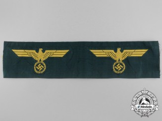 Two Unissued Kriegsmarine Coastal Artillery Breast Eagles