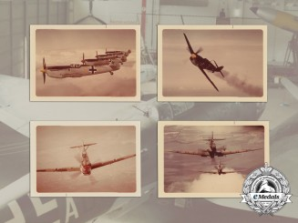 Five Post War Developed Luftwaffe Colour Prints